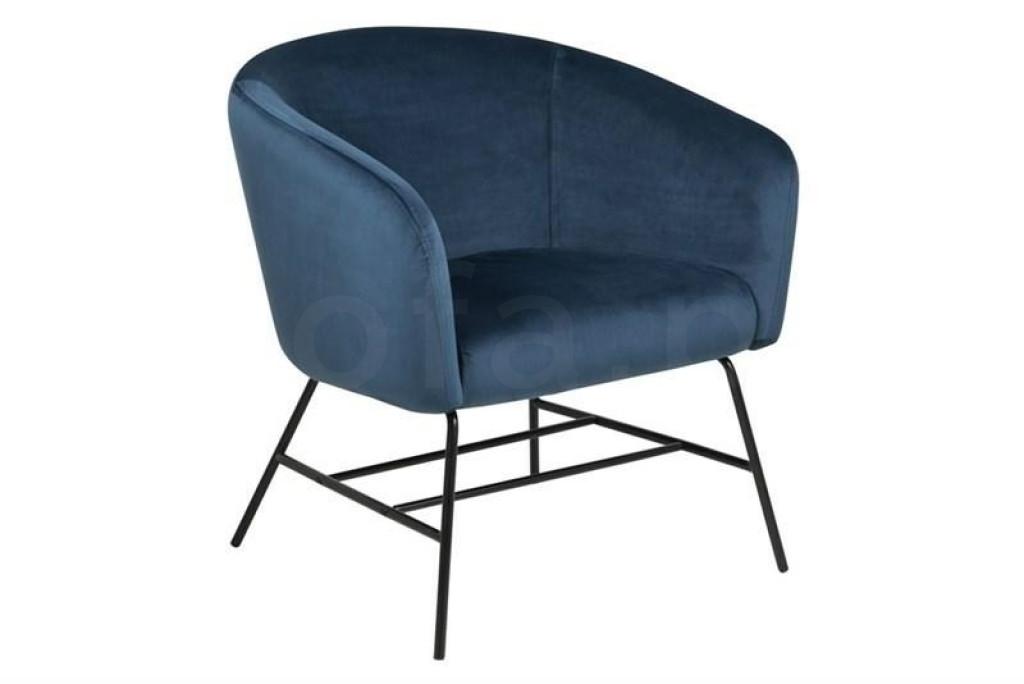 ACTONA fotel RAMSEY  - niebieski