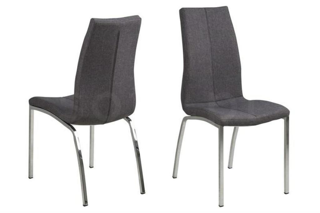 ACTONA krzesło ASAMA tapierowane szary