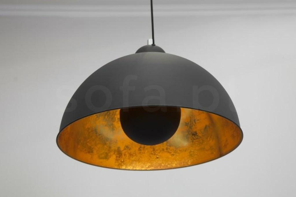 INVICTA lampa wisząca STUDIO - czarno-złota