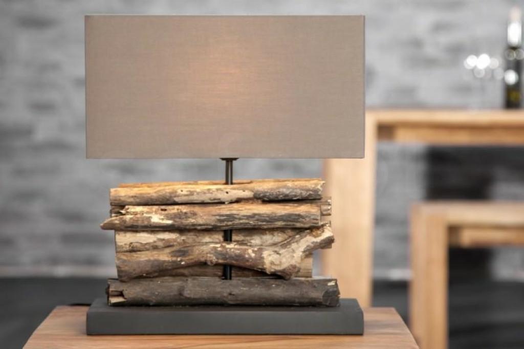 INVICTA lampa biurkowa PERIFERE  - brązowa