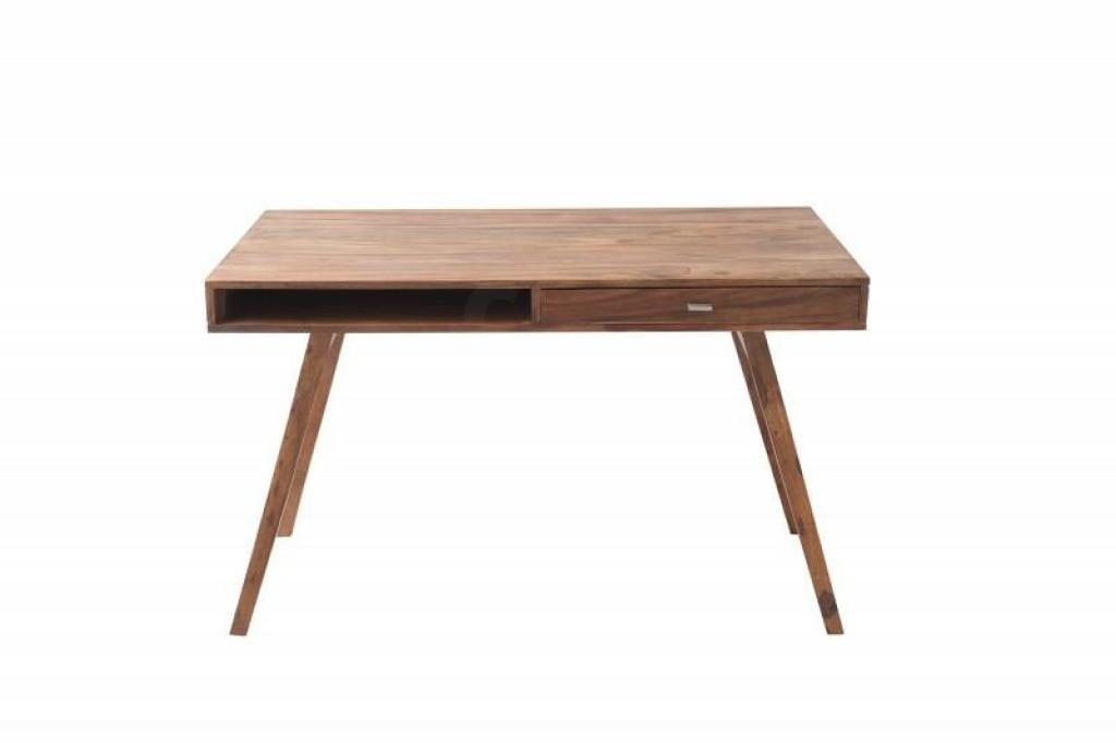 INVICTA biurko RETRO 120 cm Sheesham - drewno naturalne