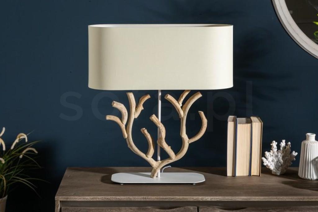 INVICTA lampa biurkowa KORALLE - beż