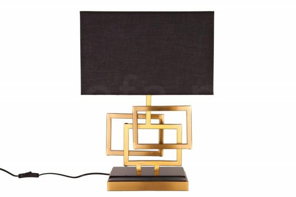 INVICTA lampa biurkowa LEONOR - złota