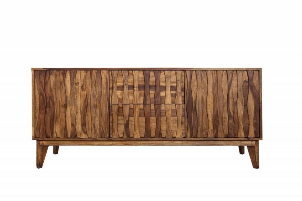 INVICTA komoda RETRO 160 cm Sheesham - drewno naturalne