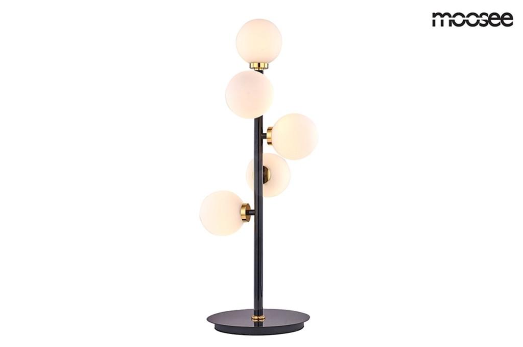 MOOSEE lampa stołowa COSMO TABLE - czarny, złoty