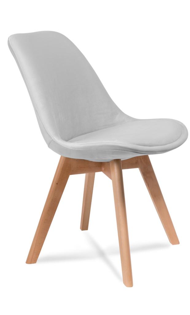 """Krzesło """"SAND"""" jasno szare:"""
