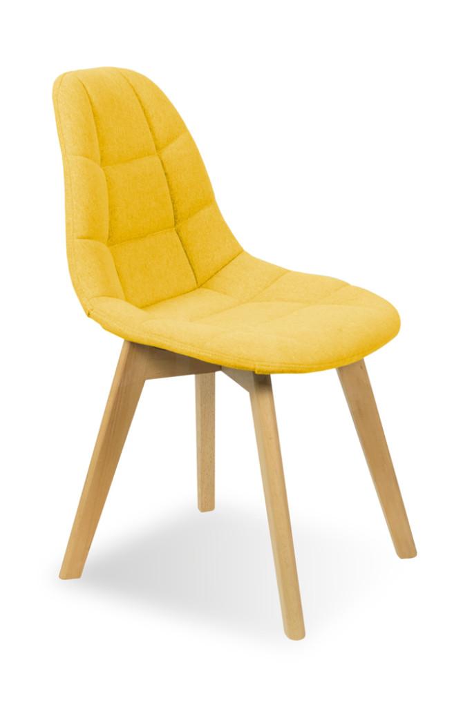 """Krzesło """"GENF"""" żółte"""